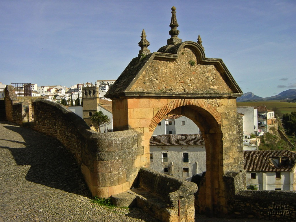 Arch of Philip V in Ronda