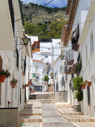 white villages in Spain
